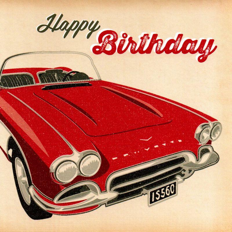 'Happy Birthday' Greeting Card