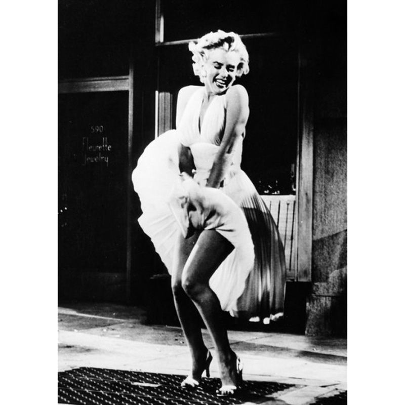'Marilyn Monroe - Seven Year Itch 1955' Greeting Card