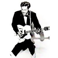 'Chuck Berry' Greeting Card