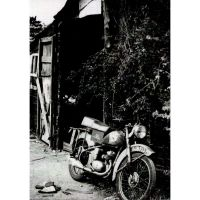 'BSA Bantam Fix' Greeting Card