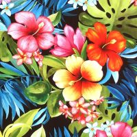 Michael Miller TROPICAL BLISS - Black