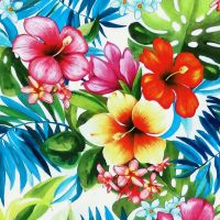 Michael Miller TROPICAL BLISS - White