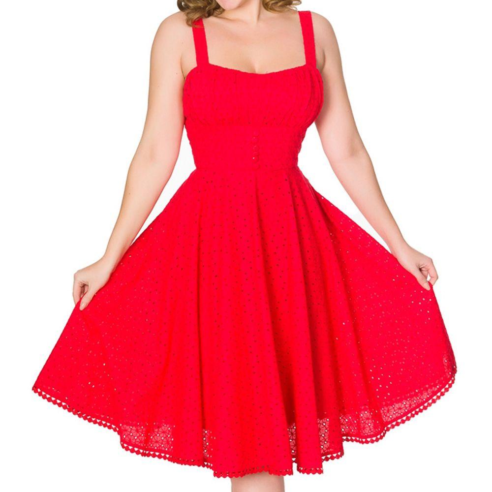 Sheen Valerie Dress - Red