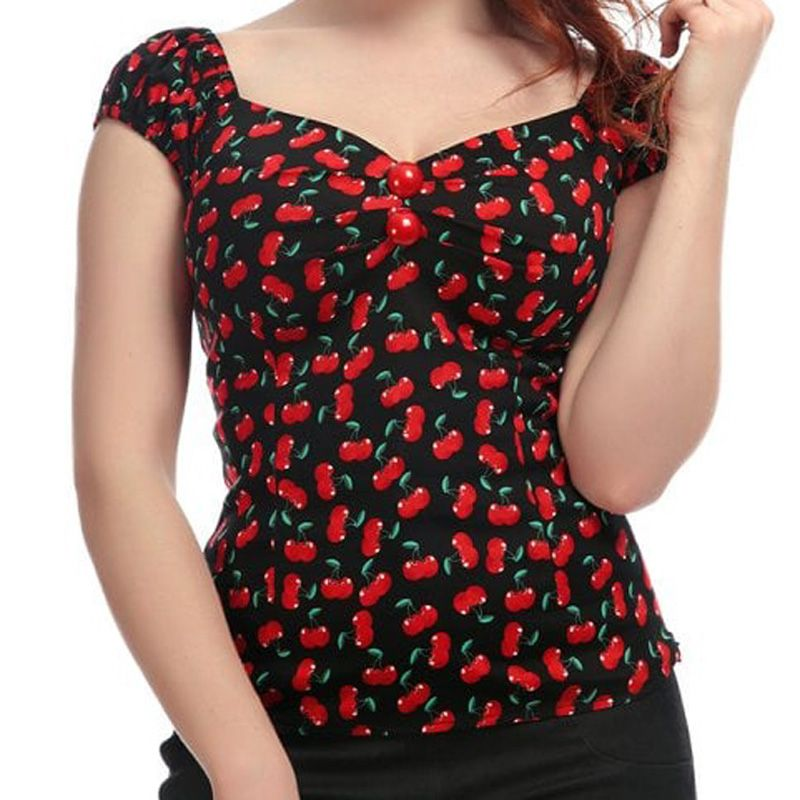 Collectif Dolores Top - Small Cherries