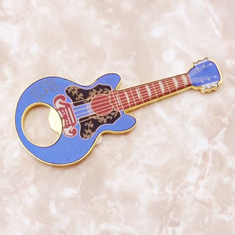 Elvis Guitar Shaped Bottle Opener