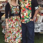 rebecca & nigel in alexander henry Mahola Girls and Aloha Girls fabric