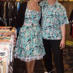 toon & marie in 50s elvis photo fabric
