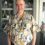 anthony in nutex warbirds shirt