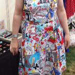 susette in paris pin ups top and skirt