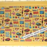 mels diner magnetic memo board from Atomic Designs