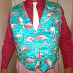 keith in flamingo reef fabric