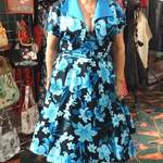 brenda in robert kaufman tahitian nights fabric