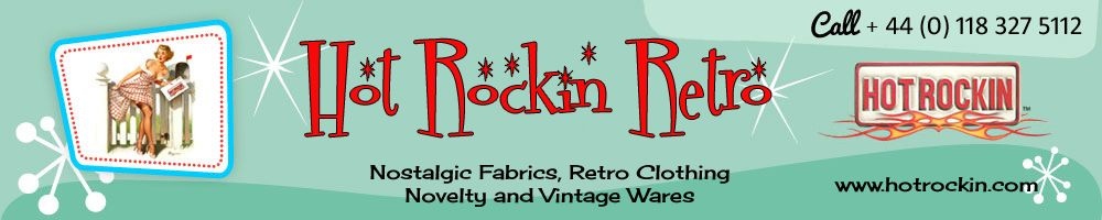 Hot Rockin Retro, site logo.