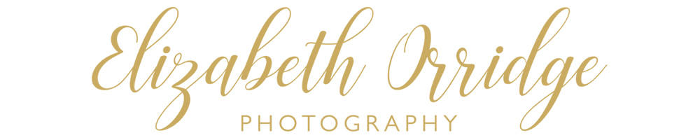 Elizabeth Orridge Photography, site logo.