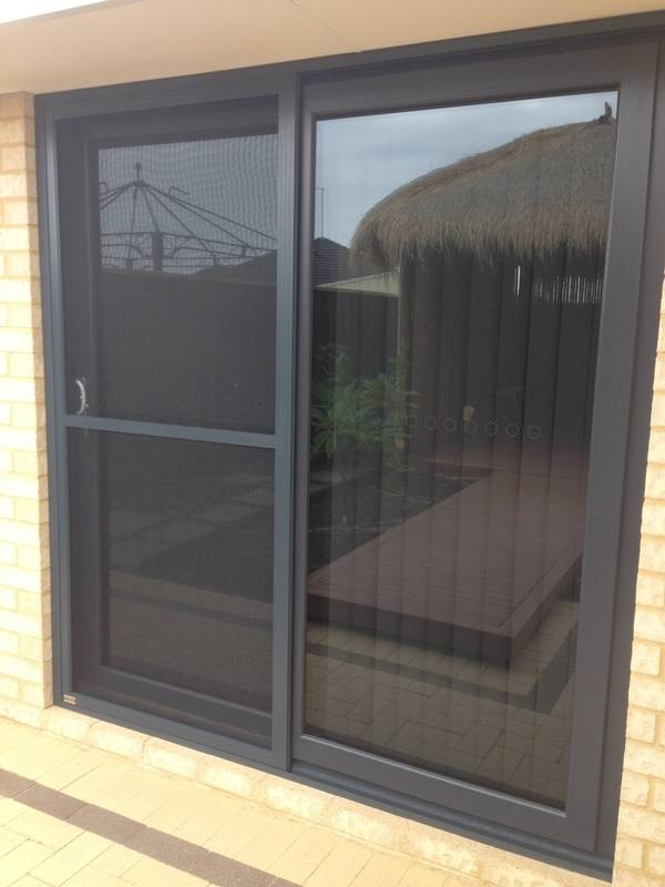 Our Flydoors U0026 Insect Screens. Flyscreen Sliding Door In Anthracite