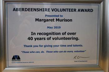 Margaret Murison certificate