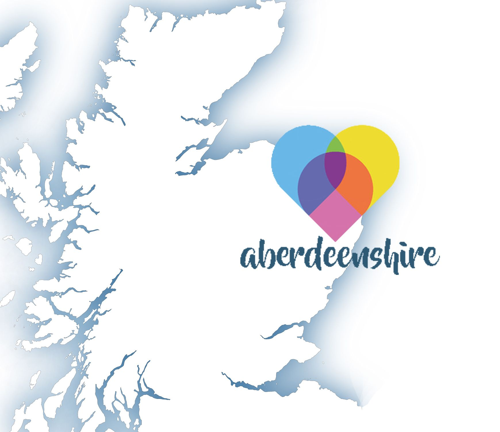 Map highlighting Aberdeenshire
