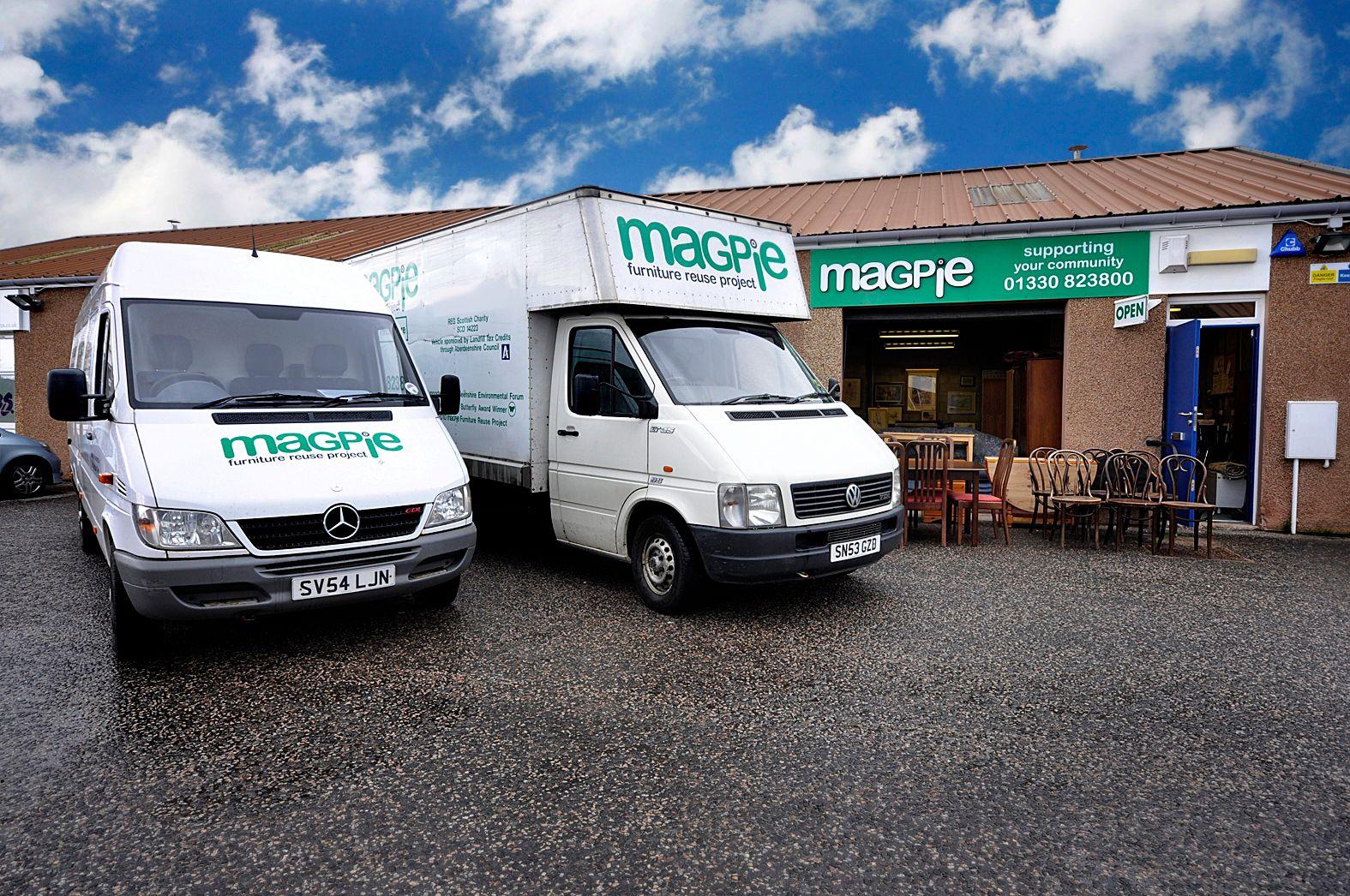 Magpie shop