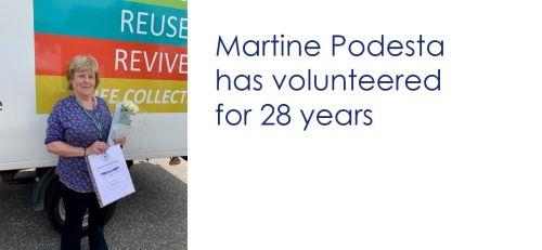 Magpie Martine Podesta