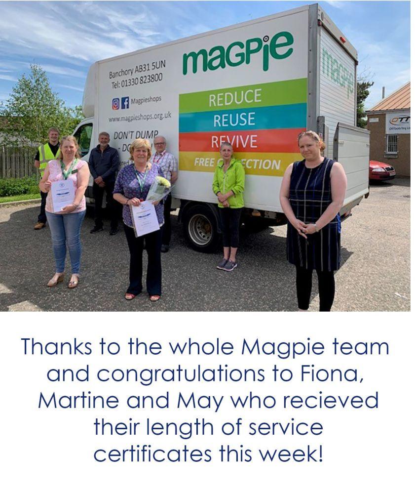 Magpie volunteers