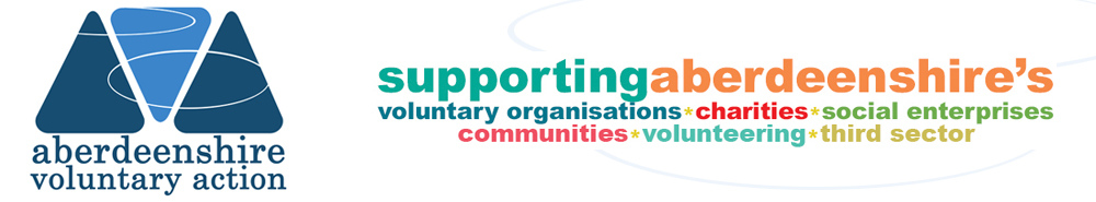 Aberdeenshire Voluntary Action, site logo.
