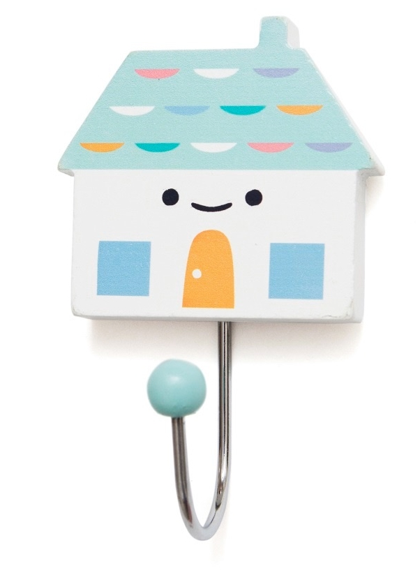 Petit Monket House Hook Aqua