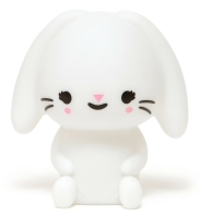 Petit Monkey Bunny Lamp - White