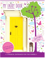 The Magic Door Store - My Yellow Fairy Door
