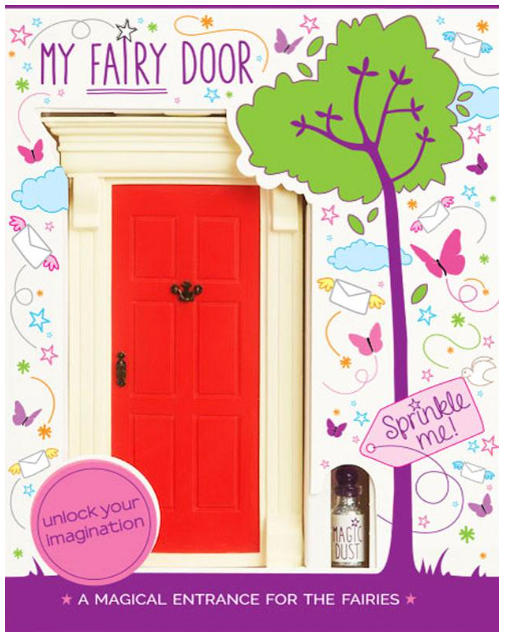 The Magic Door Store - My Red Fairy Door