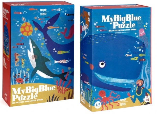 Londji - My Big Blue Puzzle
