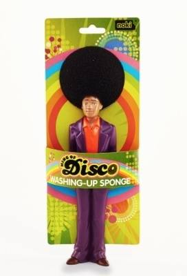 King of Disco Washing-Up Sponge