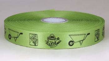 Gardening Ribbon 25mm Satin