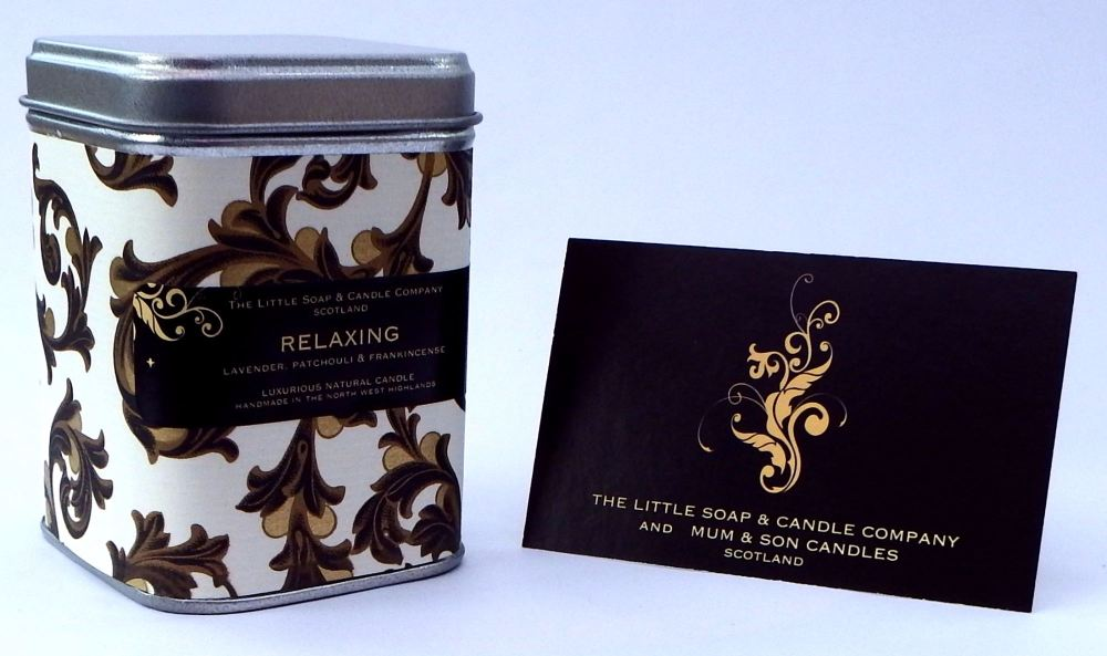 new pack relaxing tin