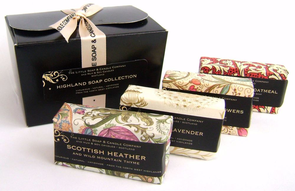 highland soap collection 2017