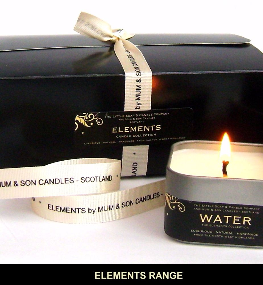 THE ELEMENTS RANGE - Candles & Body Care
