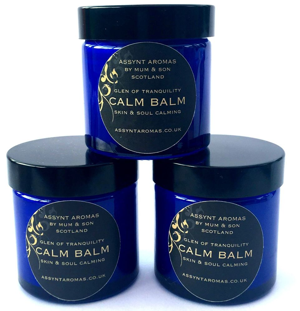 Glen of Tranquility - CALM BALM - 60ml - BULK PACK 3 x 60ml (no organza pou