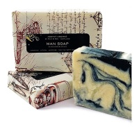 MAN SOAP - Sandalwood, Vetiver & Charcoal