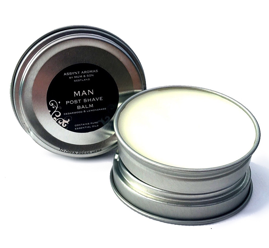 MAN - POST SHAVE BALM Cedarwood & Lemongrass
