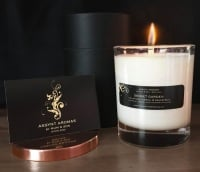 SECRET GARDEN - calming & uplifting candle in glass
