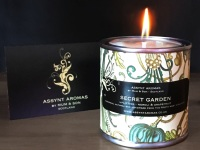 SECRET GARDEN - calming & uplifting candle in tin