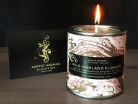 WILD HIGHLAND FLOWERS -calming candle in tin