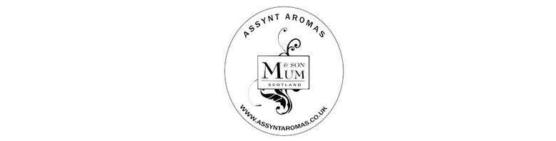 Assynt Aromas by Mum & Son, site logo.