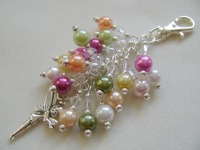 Spring 'Tinkerbell' Fairy Bag Charm or Keyring