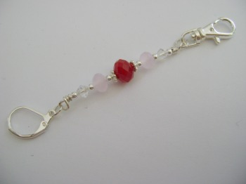 Cherry Red Stitch Marker Holder