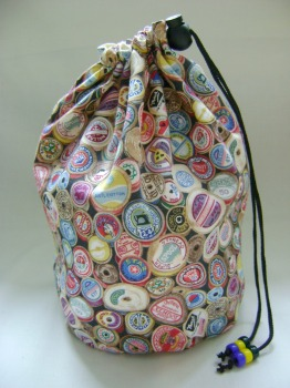 Sew Retro Reels Project Bag