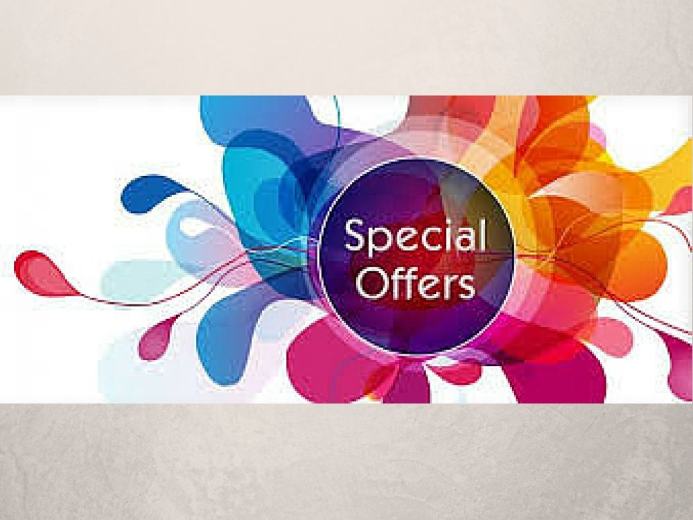 <!-- 003 -->Special Offers