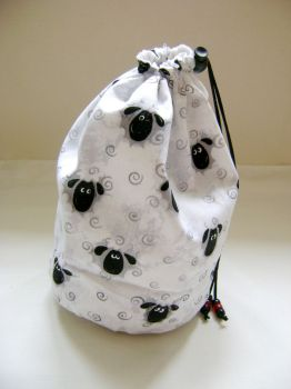 Lewe the Ewe Project Bag