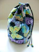 Butterfly Ball Project Bag