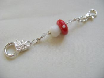 Fairy Toadstool Stitch Marker Holder
