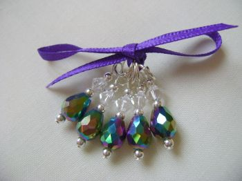 Rainbow Drop Faceted